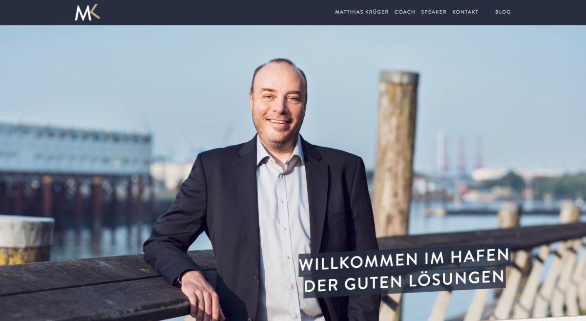 Matthias Krüger – Coach & Speaker Hamburg